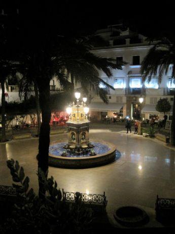 Het Plaza de España in Vejer de la Frontera