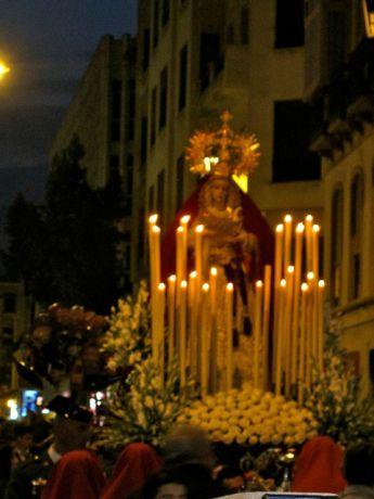 Processie in Malaga
