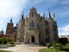 Het Bisschoppelijk Paleis van Gaudí in Astorga