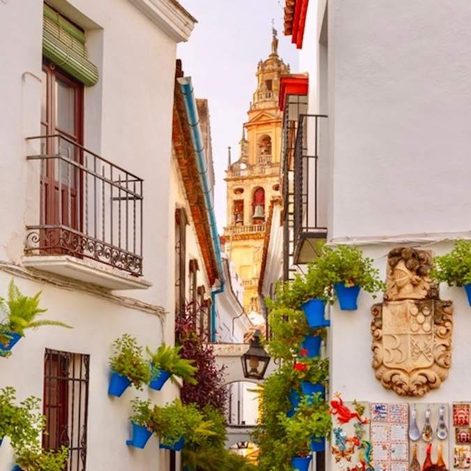 Calle de las Flores in Córdoba