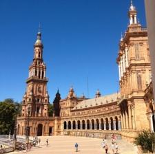 Het Plaza España in Sevilla