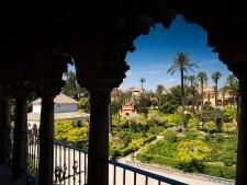Tuin van het Alcázar in Sevilla