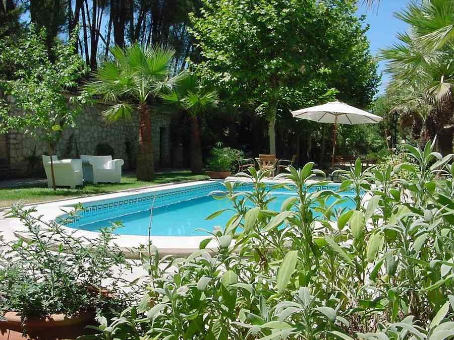 Zwembad hotel Bocairant
