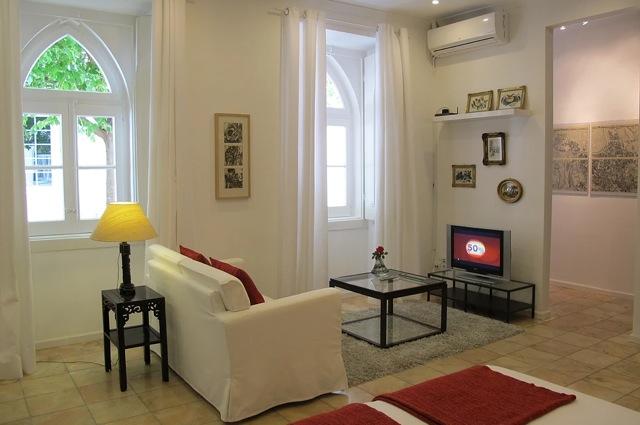 Een van de twee appartementen Villa Bairro