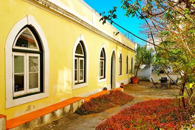 Pario van de appartementen Villa Bairro