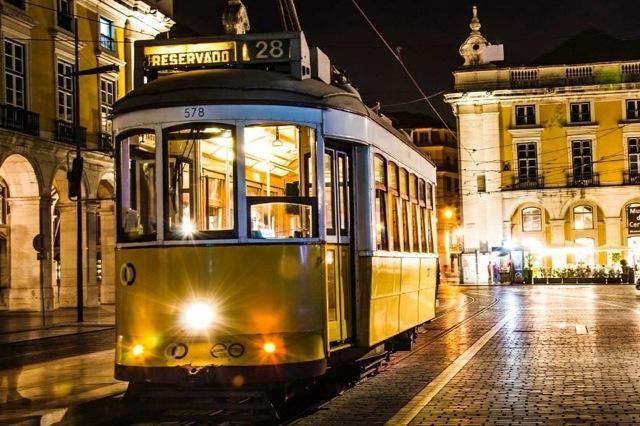 tramlijn28 in Lissabon