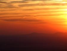 Zonsondergang op 1600 meter in Las Villuercas