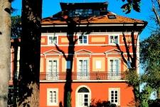 Verzorgd Casona hotel aan de kust bij Cudillero