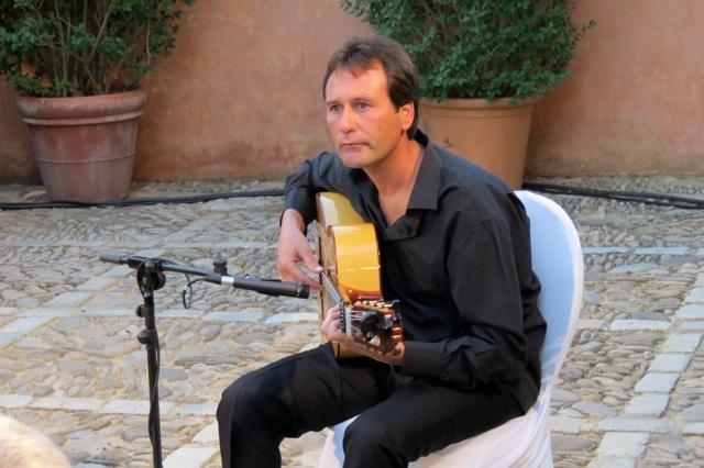 muziek tijdens de Cata, de proeverij