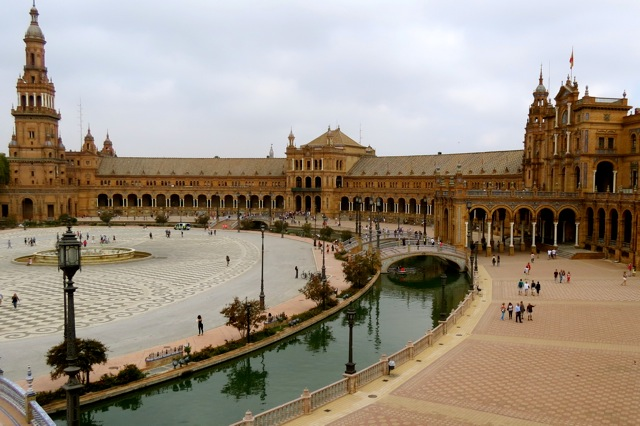 Plaza España in Sevilla