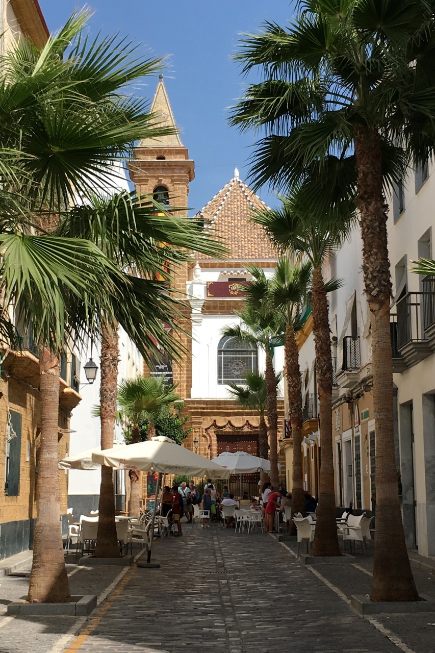 Calle Virgen de la Palma, in La Viña