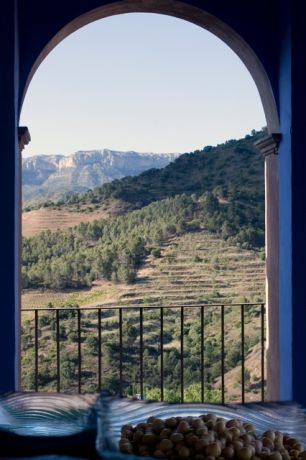 Uitzicht op de Montsant