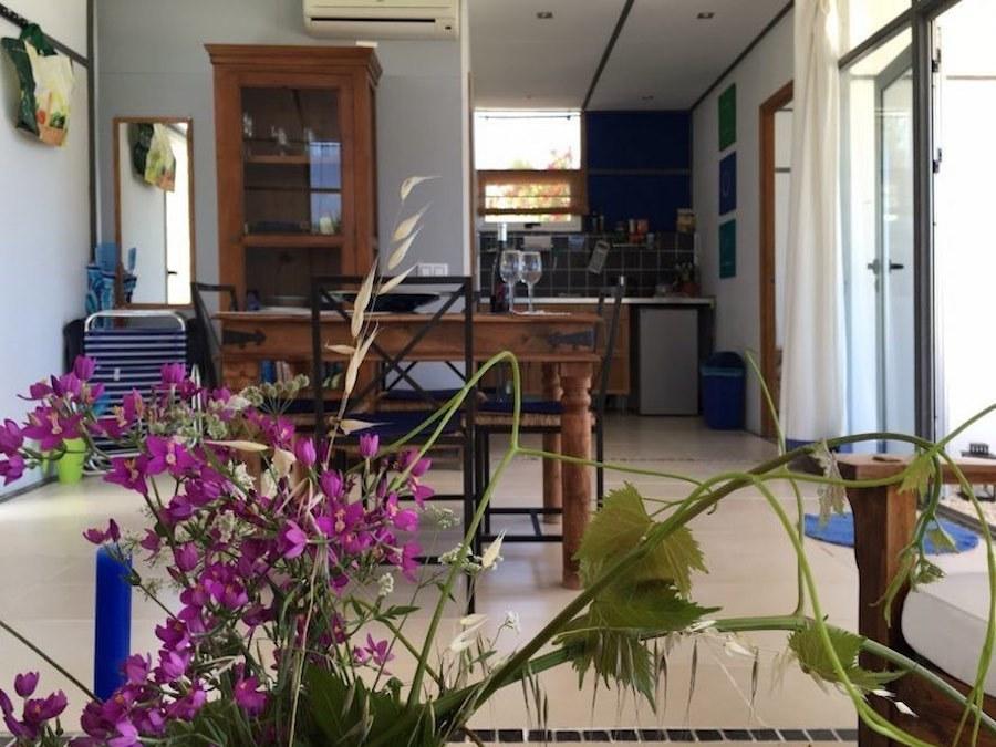 Salon en keuken