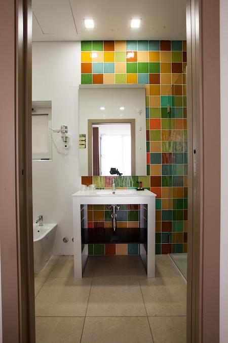 Badkamer in de annex