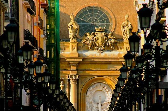 Straat in Madrid
