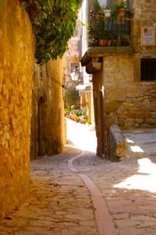 Straatje in Pedraza