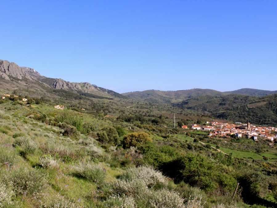 De Finca en het dorp