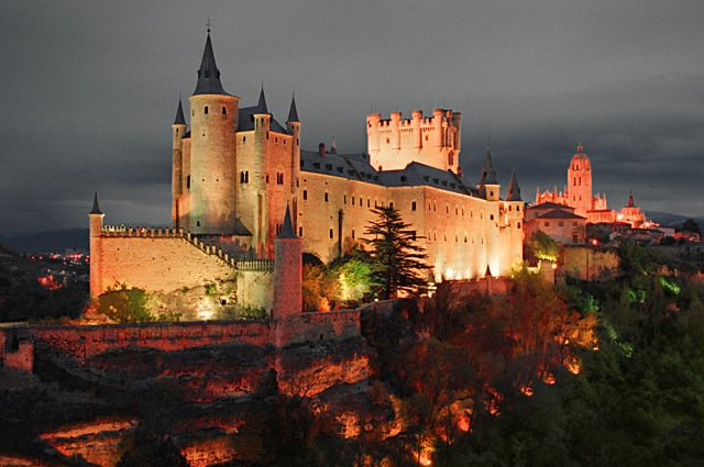 Segovia avond