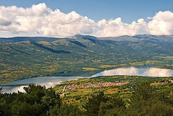 Sierra de Guaderrama bij Segovia