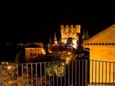 Uitzicht op Segovia vanuit hotel