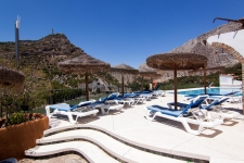 zwembad hotel caminito del Rey El Chorro