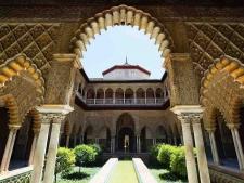 Het Alcázar in Sevilla
