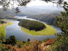 Natuurgebied las Hurdes in het noorden van de Extremadura