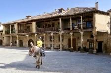 Plaza in Pedraza