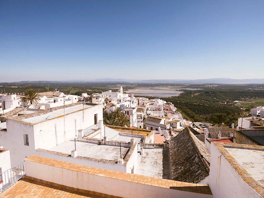 Uitzicht van privé-terras
