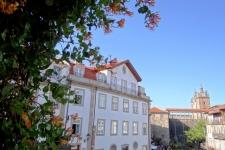 Stadspaleis aan de voet van de Kathedraal in Viseu