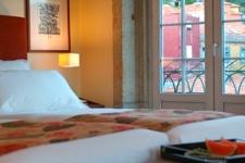 Pestana Porto hotel aan de Douro rivier in Porto