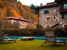 Het hotel in de Picos de Europa, bij Potes