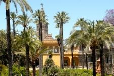 Tuinen Alcazar Sevilla