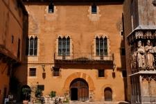 Bij de Kathedraal van Tarragona