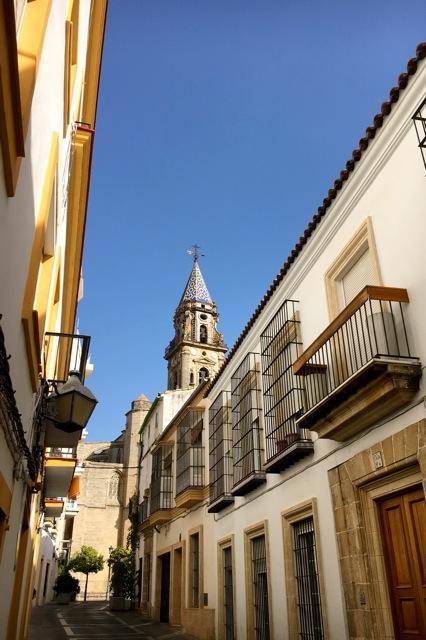 Gelegen in het centrum van Jerez