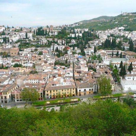 Zicht op Granada