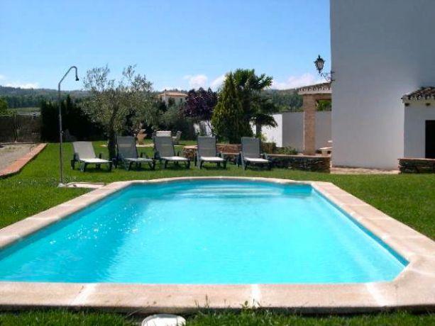 Elk huis heeft een eigen zwembad
