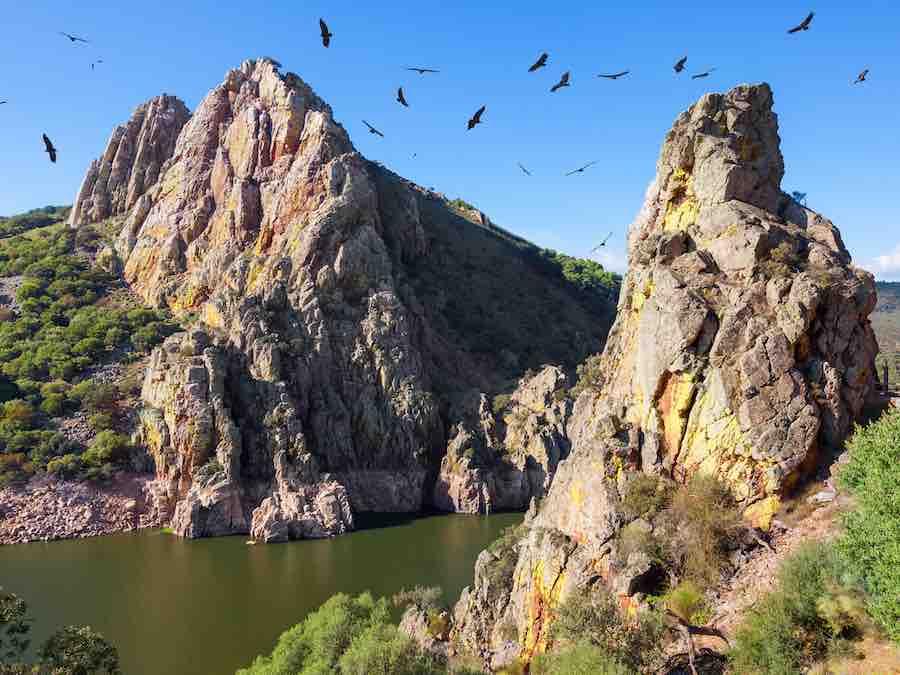 Mirador del Salto del Gitano in Monfrague