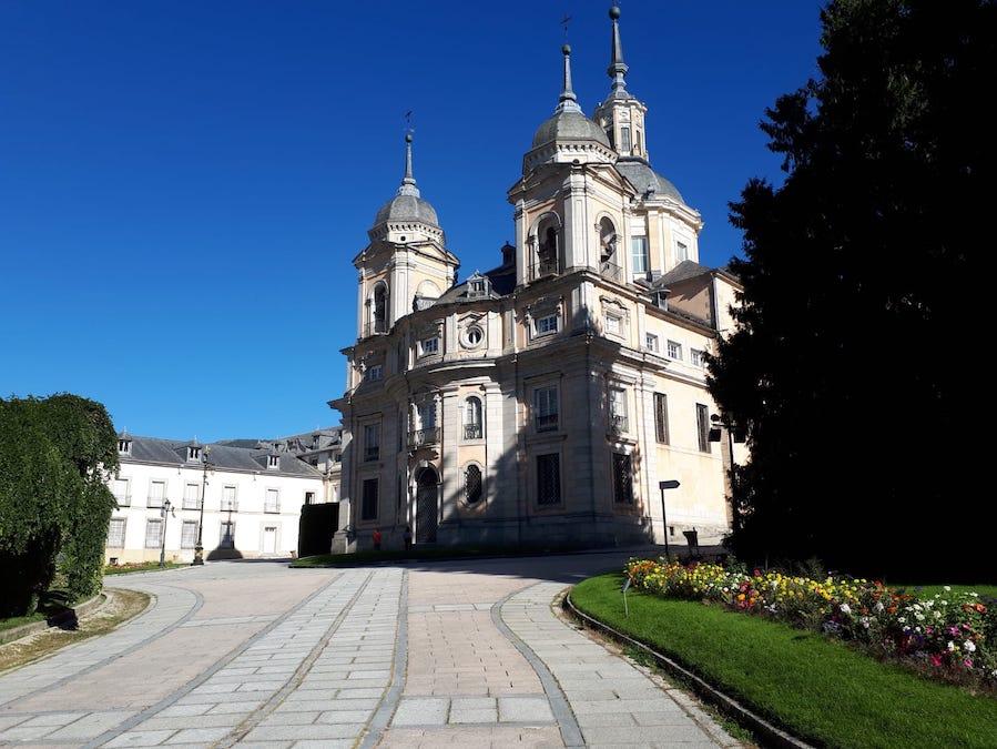 La Granja de Ildefonso bij Segovia