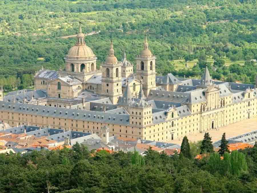 Het Escorial bij Madrid