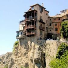 De 'hangende huizen' - Casas Colgadas in Cuenca