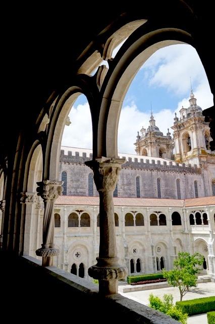 Een van de beroemde kloosters in Portugal