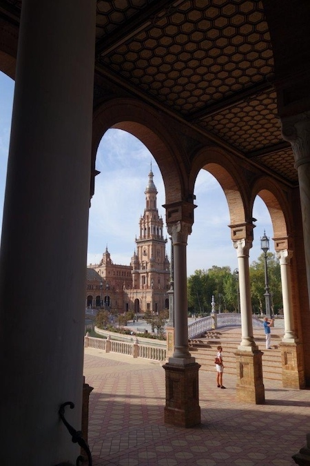 Plaza de Epaña Sevilla