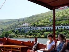 Douro Cruise op een  klein houten bootje