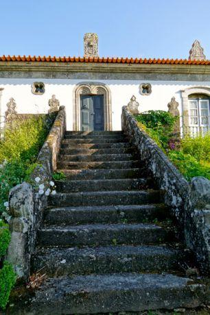 Het landgoed waar we verbleven buiten Porto