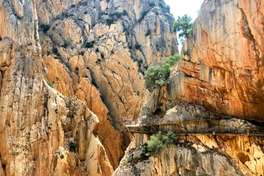 De Caminito del Rey tussen Málaga en Ronda