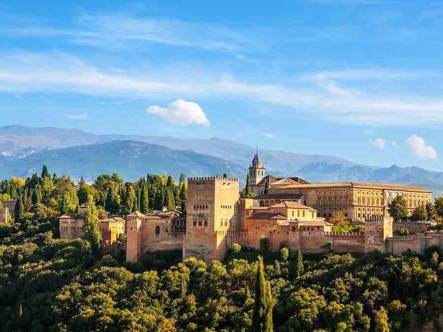 Het Alhambra., Granada