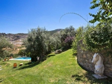 Tuin van de Cortijo bij Granada