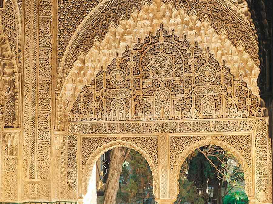 Het Alhambra bij Granada