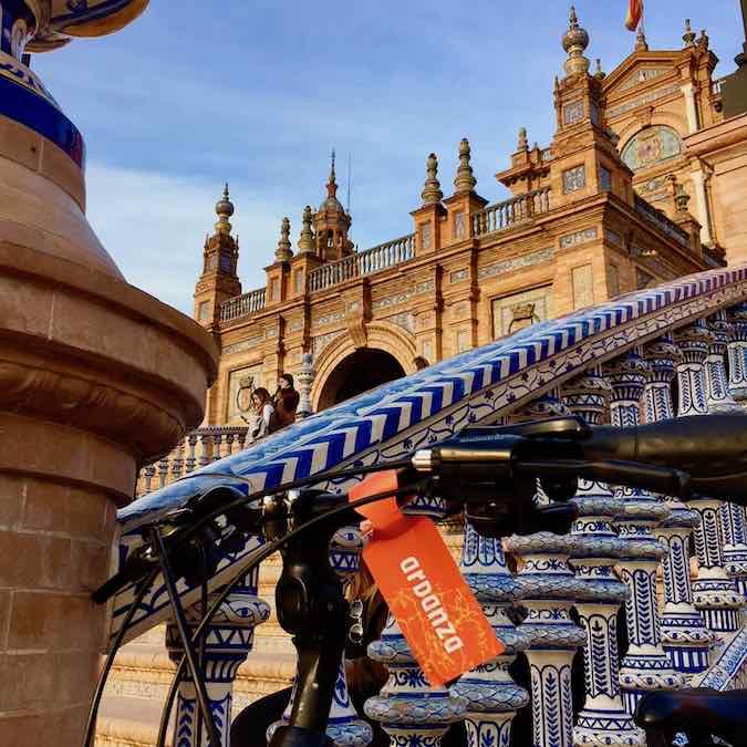 Fietstour in Sevilla met local